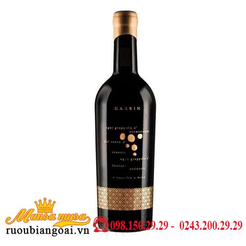 Rượu Vang Ý Garbin Vino Rosso
