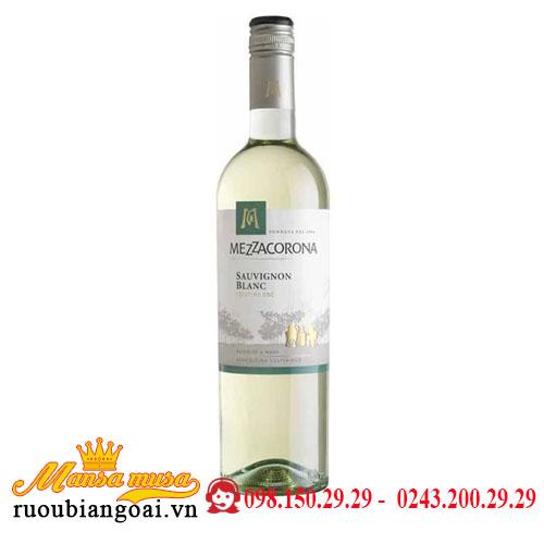 Rượu Vang Ý Mezzacorona Sauvignon Blanc, Trentino DOC 2019