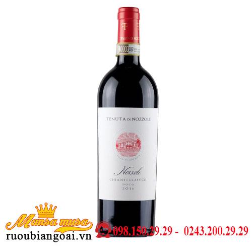 Rượu Vang Ý Vang Nozzole 2016