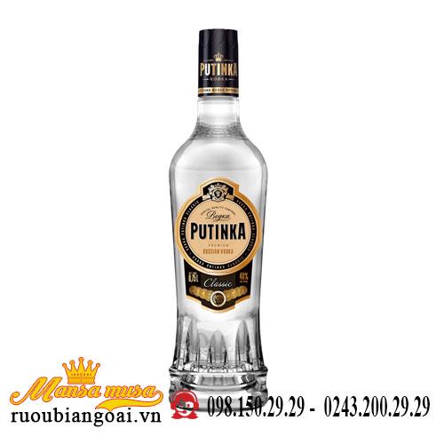 Rượu Vodka Putinka 500ml