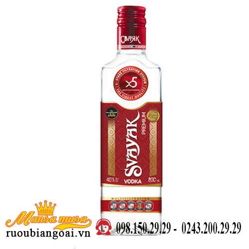Rượu Vodka Svayak 500ml