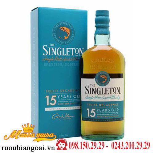 Rượu Whisky Singleton 15 Dufftown