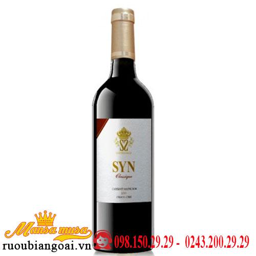 Vang Chile Syn Classique Cabernet Sauvignon