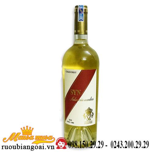 Vang Chile Syn Sleccionados Chardonnay