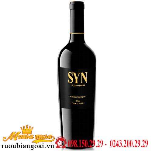 Vang Chile Syn Ultra Premium Cabernet Sauvignon