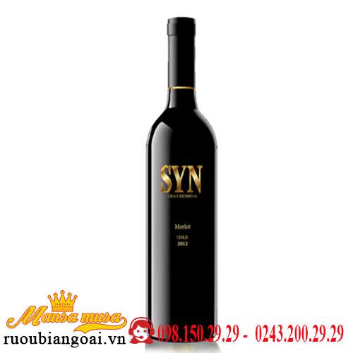 Vang Chile SYN Ultra Premium Merlot