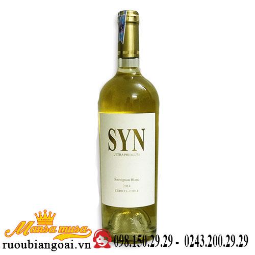 Vang Chile Syn Ultra Premium Sauvignon Blanc