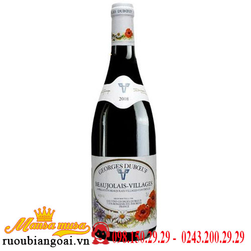 Vang Pháp Georges Duboeuf Beaujolais-Villages