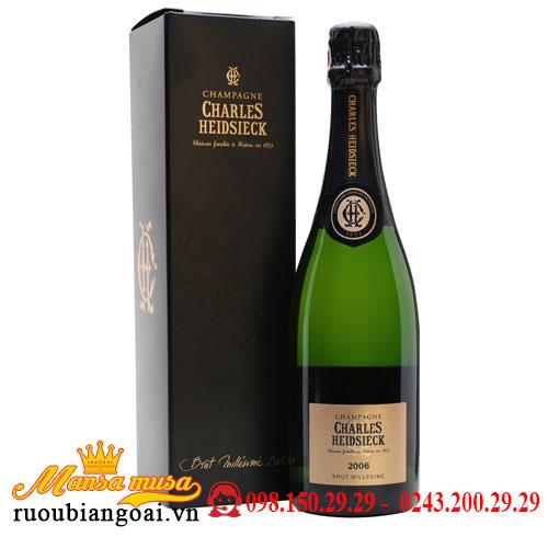Champagne Charles Heidsieck Brut Millésimé 2012