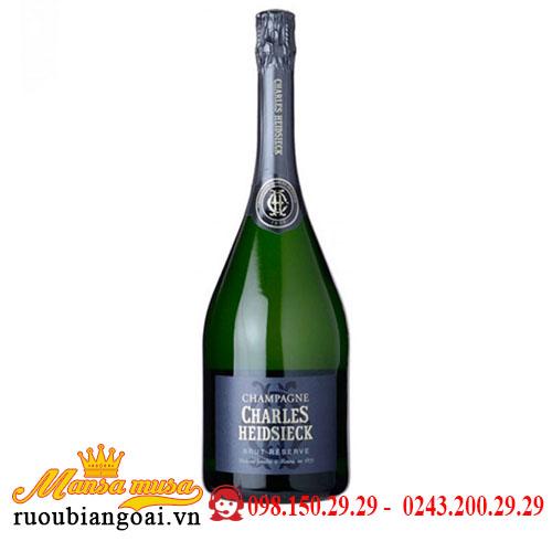 Rượu Sâm Panh Champagne Charles Heidsieck Brut Réserve 1.5L
