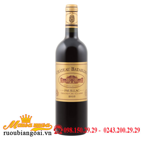 Vang Chateau Batailley 2010
