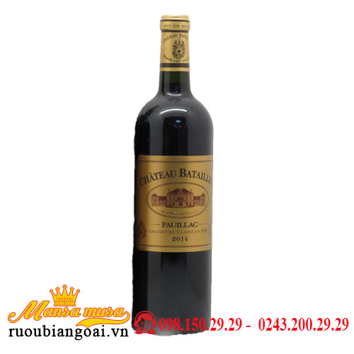 Vang Chateau Batailley 2014