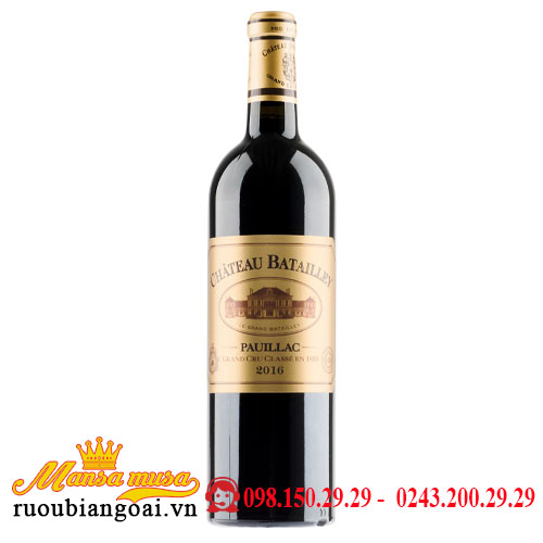Vang Chateau Batailley 2016