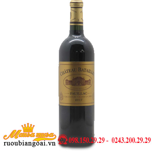 Vang Chateau Batailley 2017