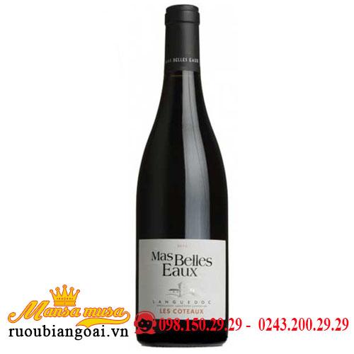 Rượu Vang Pháp Chateau Belles Eaux Languedoc Les Coteaux