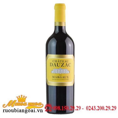 Rượu Vang Chateau Dauzac Margaux 2017