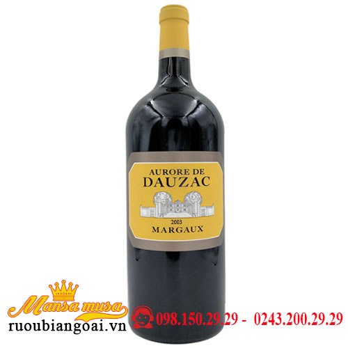 Vang Chateau Dauzac Margaux 6000ml 2003