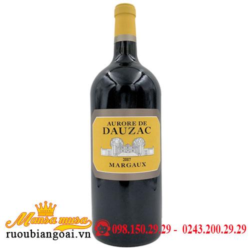Vang Chateau Dauzac Margaux 6000ml 2007