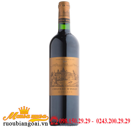 Vang Chateau d'Issan Margaux 2015