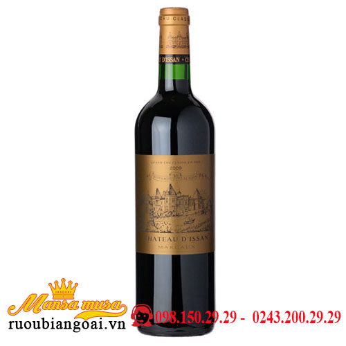 Vang Chateau d'Issan Margaux 2009