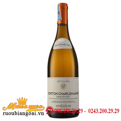 Rượu Vang Pháp Patriarche Corton Charlemagne