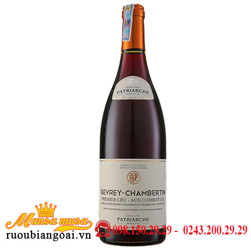 Rượu Vang Pháp Patriarche Gevrey Chambertin Les Corbeaux
