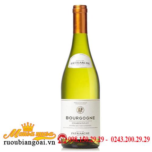 Rượu Vang Pháp Patriarche- Bourgogne Chardonnay