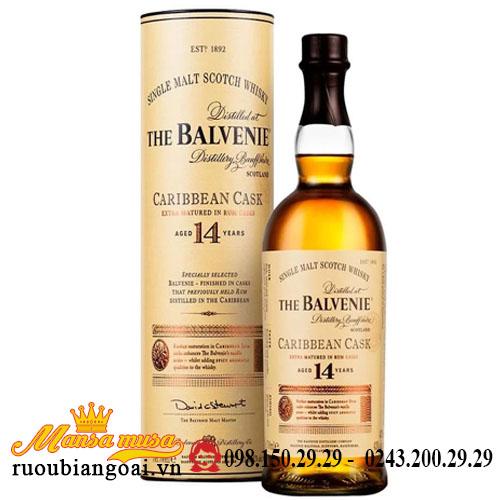 Rượu Balvenie 14 caribbean Cask