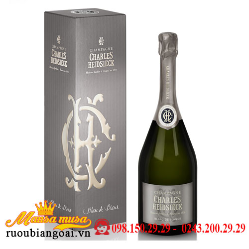 Rượu Champagne Charles Heidsieck Blanc De Blancs
