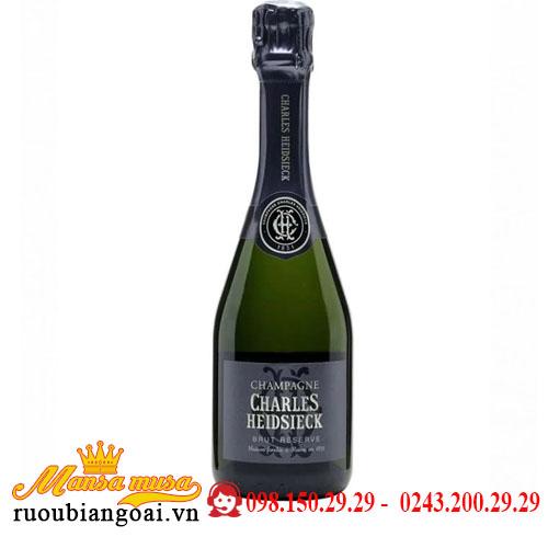 Rượu Champagne Charles Heidsieck Brut Réserve 375ml
