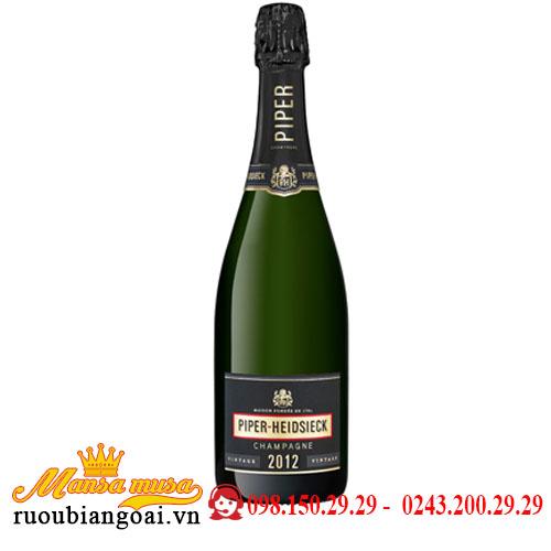 Rượu Champagne Piper Heidsieck Brut Vintage
