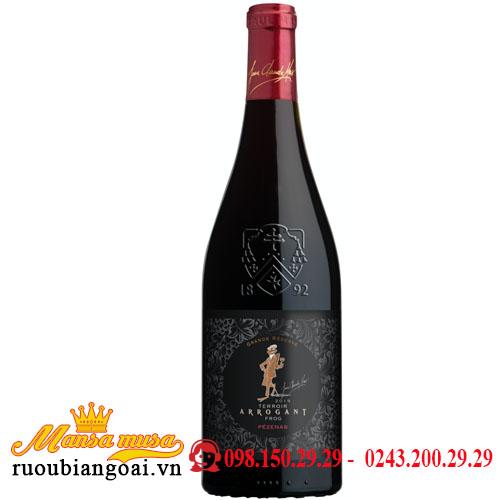 Rượu Vang Arrogant Frog Grande Reserve Pezenas