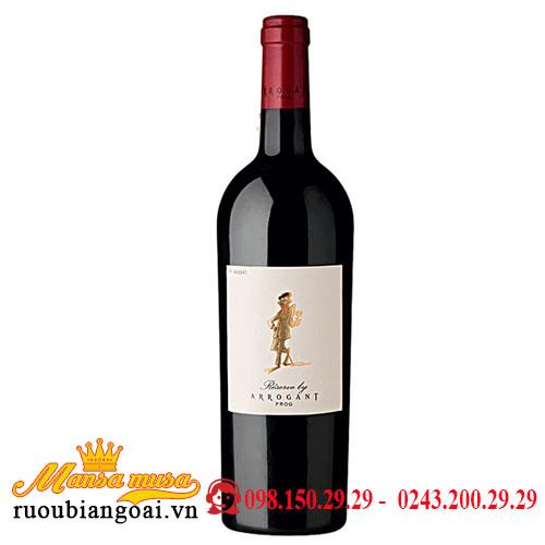 Rượu Vang Arrogant Frog Reserve Grenache Syrah