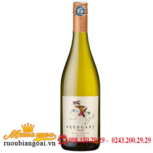 Rượu vang Arrogant Frog Tutti Frutti Blanc