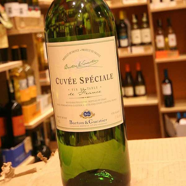 Rượu Vang Pháp B&G Cuvee Speciale Blanc VIN Blanc