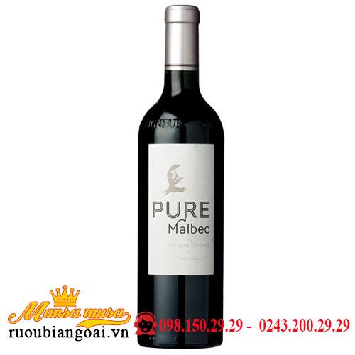 Rượu Vang Chateau Pech De Jammes Pure Malbec Cahor