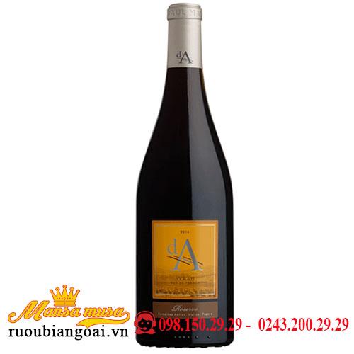 Rượu Vang Da Syrah Reserve 2017