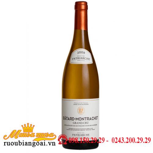Rượu Vang Patriarche Batard Montrachet
