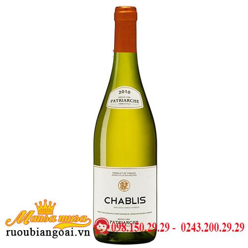 Rượu Vang Patriarche Chablis