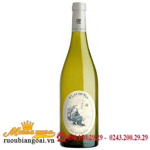 Rượu Vang Pháp Claude Val Blanc