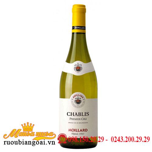 Rượu Vang Pháp Moillard Chablis Premier Cru