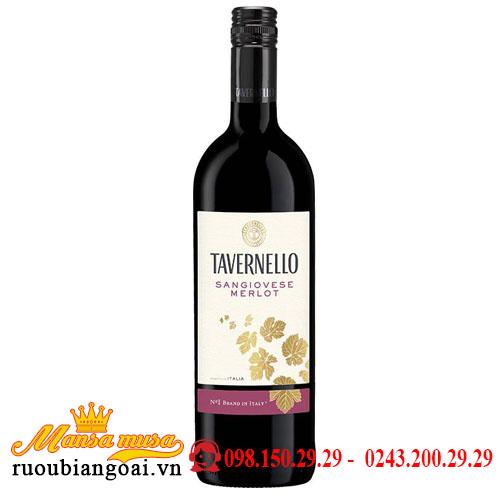 Rượu Vang Ý Tavernello Rubicone Sangiovese – Merlot