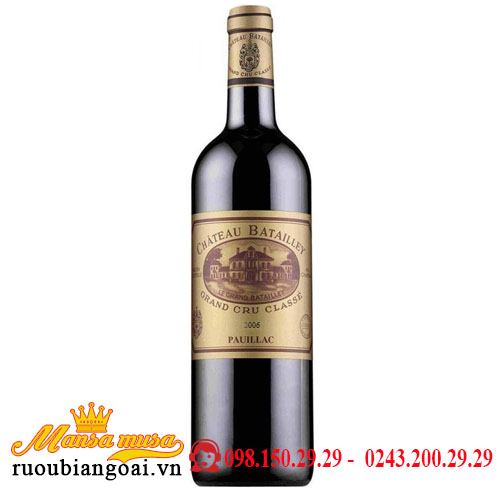 Vang Chateau Batailley 2006