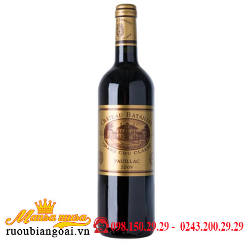 Vang Chateau Batailley 2009
