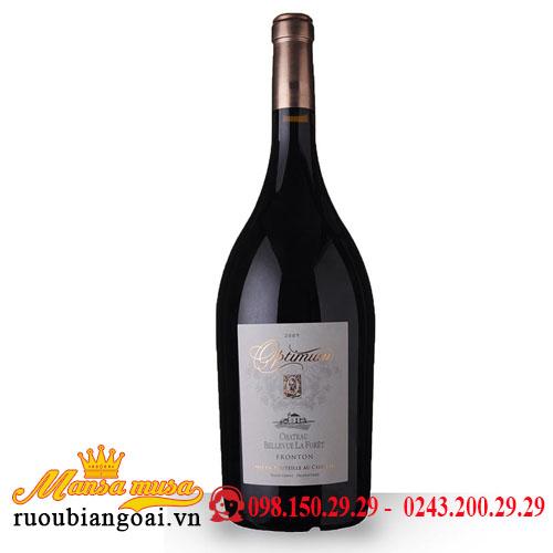 Rượu Vang Chateaux Optimum 1500ml   Rượu Vang Pháp