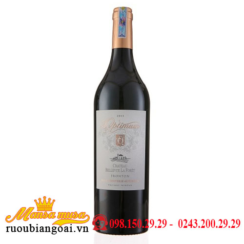 Rượu Vang Chateaux Optimum   Rượu Vang Pháp