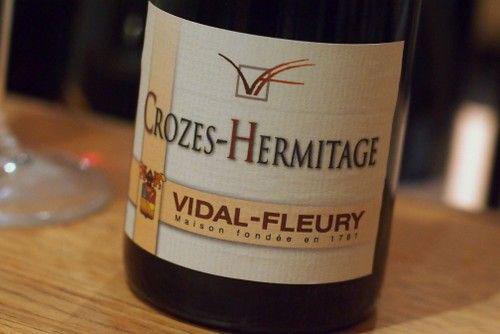 Rượu Vang Pháp Vidal Fleury Crozes Hermitage 2015