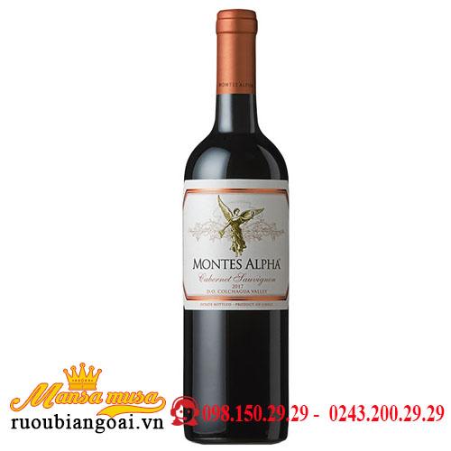 Rượu Vang Chile Montes Alpha Cabernet Sauvignon 2007-2008-2009