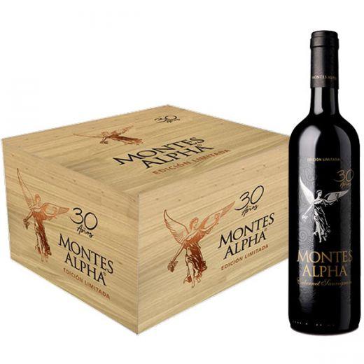 Rượu Vang Montes Alpha Cabernet Sauvignon 2018