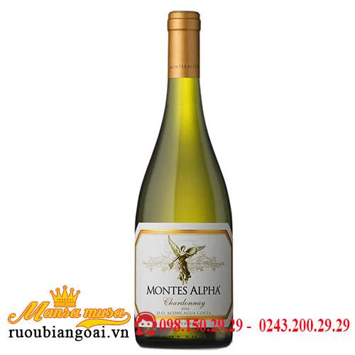 Rượu Vang Chile Montes Alpha Chardonnay